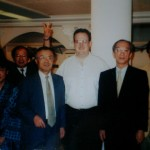Me with a number of Yamaha executives in Japan