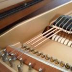 Kawai grand getting new bass strings