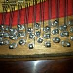 Pins too close-120 year old piano
