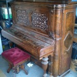1876 Centennial edition artcase Steinway with original stool