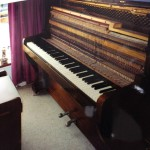 Piano restored while in Windhoek, Namibia